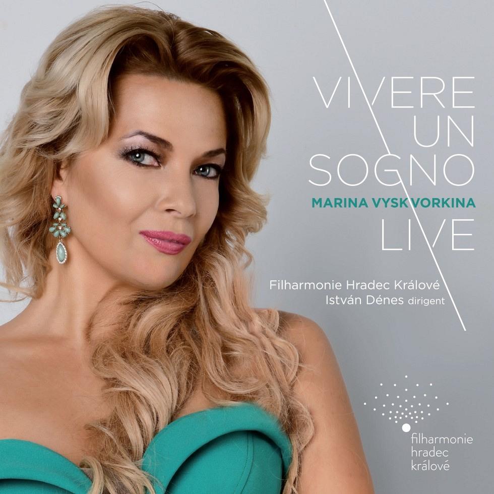booklet CD: Vivere un sogno Live - Marina Vyskvorkina